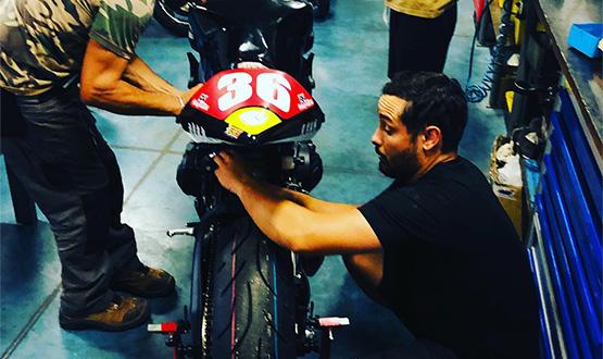 atelier préparation moto clément beauregard